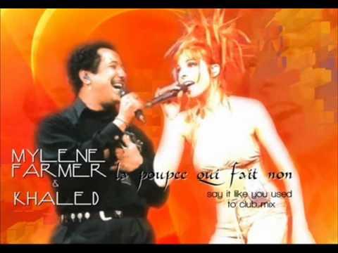 Mylene Farmer & Cheb khaled   qui fait non live