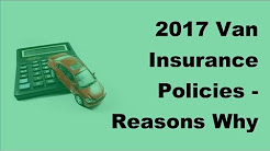 2017 Van Insurance Policies |  Reasons Why You Need to Do an Auto Insurance Comparison