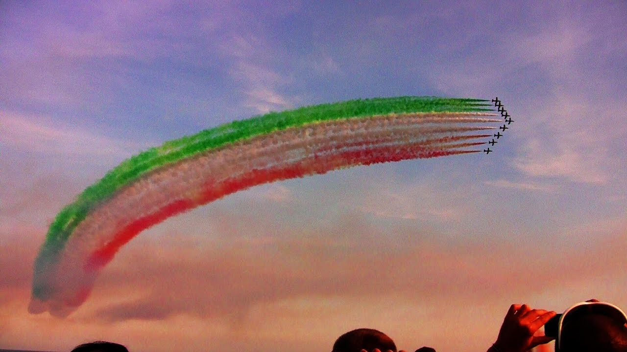 Andora Air Show Frecce Tricolori 2013 Hd Youtube