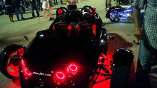 Miami Bike Night - 3 T-rex, V13R, BMW S1000RR, Honda Rune