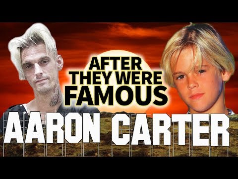 AARON CARTER - AFTER They Were Famous - BISEXUAL
