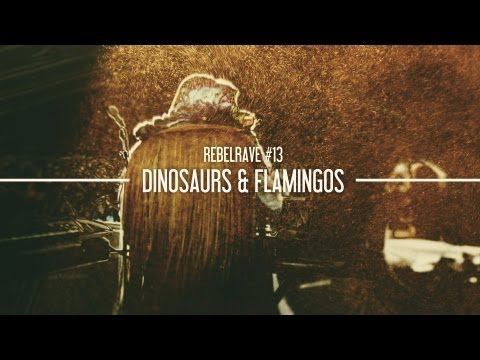 REBELRAVE #13: Dinosaurs and Flamingos