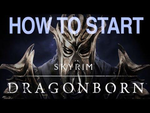 Skyrim Dragonborn: How to Start the Dragonborn Quest - Begin Dragonborn DLC