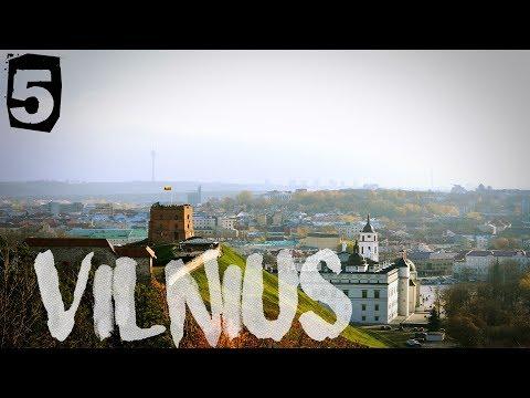 PHANTOM 4 LITHUANIA, VILNIUS IN 4K