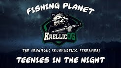 🎣 Teenies in the Night Event - 3 1st's in a row!🥇  XBOX/Win 10/Steam Fishing Planet 🎣