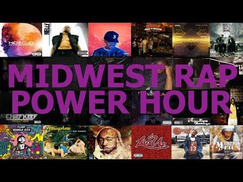 Midwest Rap/Hip-Hop Power Hour Drinking Game
