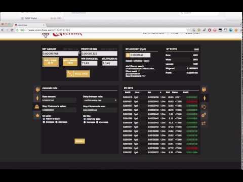 Coinichiwa.com - Bitcoin Dice Gambling (Fast Rolling) 500 Satoshi Faucet WIN