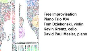 Piano Trio #34 -- Tom Dziekonski, Kevin Krentz, David Paul Mesler (free improvisation)