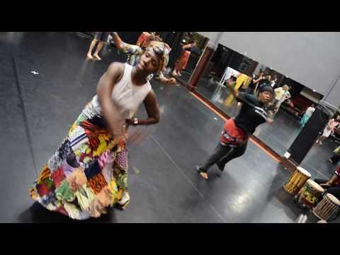 "AFRICAN DANCE CLASS VOL. 2 ║ AICHA ""ASTOU"" SAGNA TEACHING ""NIMBA"" ║ THE DANCE COMPLEX, MAY 23, 2017"
