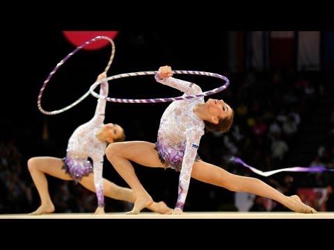 Rhythmic Worlds 2011 Montpellier - Groups Finals 3+2 - We are Gymnastics!