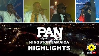 Sanchez, Beenie Man, Tarrus Riley & Kevin Downswell - Pan 2016 Live
