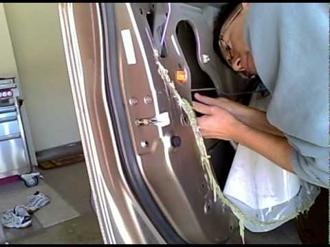 2003 Honda Cr V Driver S Door Actuator Replacement Youtube
