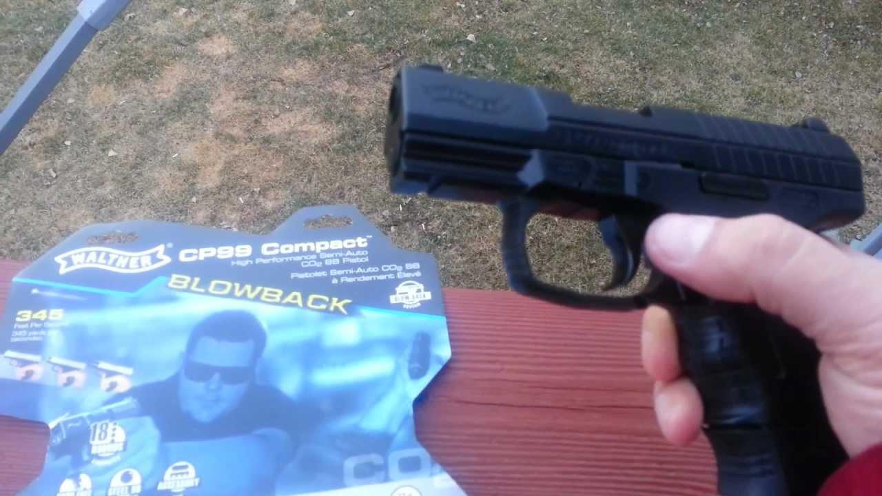 Walther CP99 Blowback Airgun Test