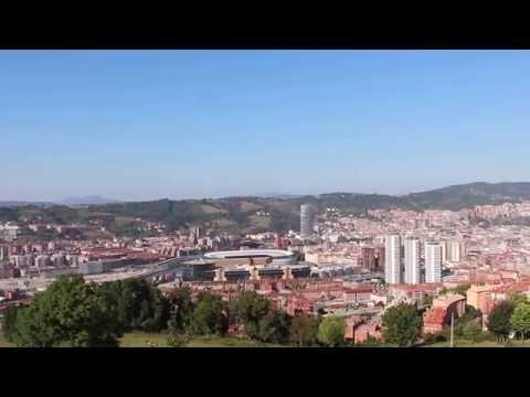 Vista de Bilbao desde el Monte Cobetas