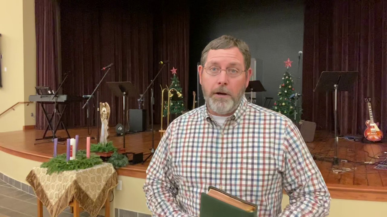 Video Message from Pastor Rit: 12/02