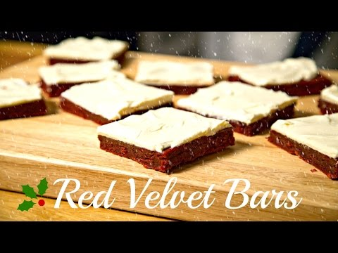 Red Velvet Bars | Christmas Special | Son Of A Southern Chef