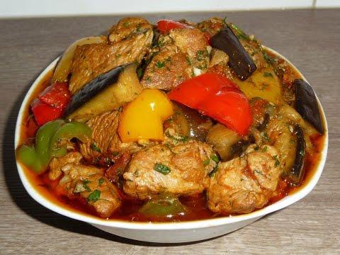Блюда из перца болгарского на второе в мультиварке