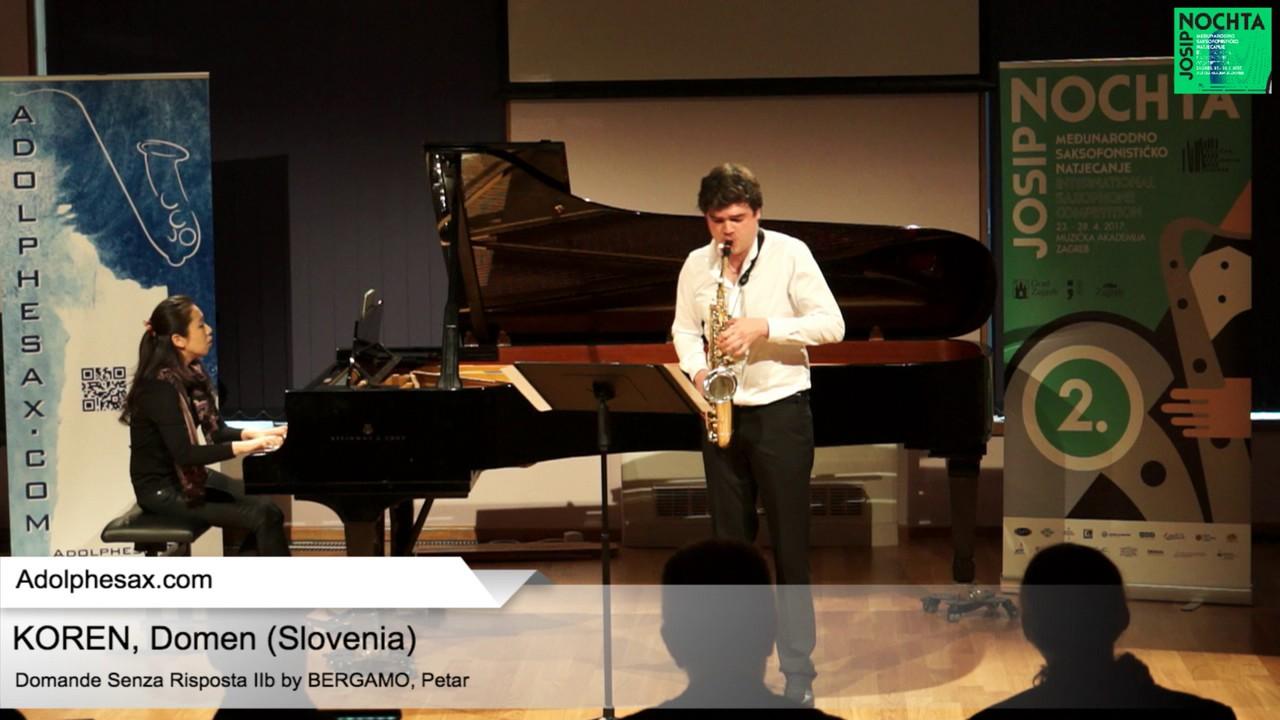 Domande senza risposta IIb by Petar Bergamo –  KOREN, Domen Slovenia