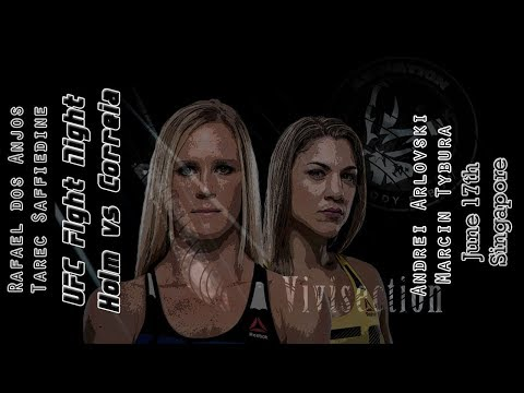 The MMA Vivisection - UFC Singapore: Holm vs. Correia picks, odds, & analysis