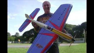 "Aeromodelo Vcc. Maxin 40 "" Projeto Novo """