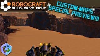 Robocraft - Custom Maps Special Preview!!!