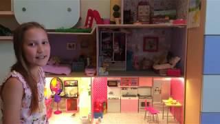 як зробити балкон для ляльок