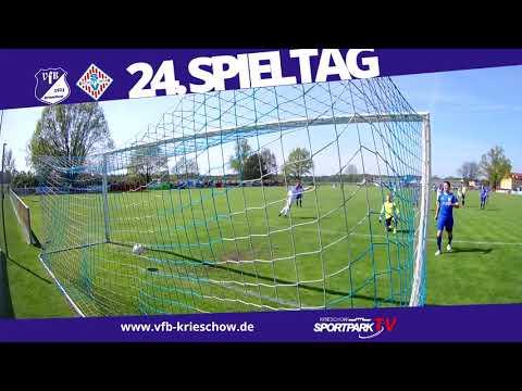 24. Spieltag Oberliga Süd VfB 1921 Krieschow vs. SV Schott Jena