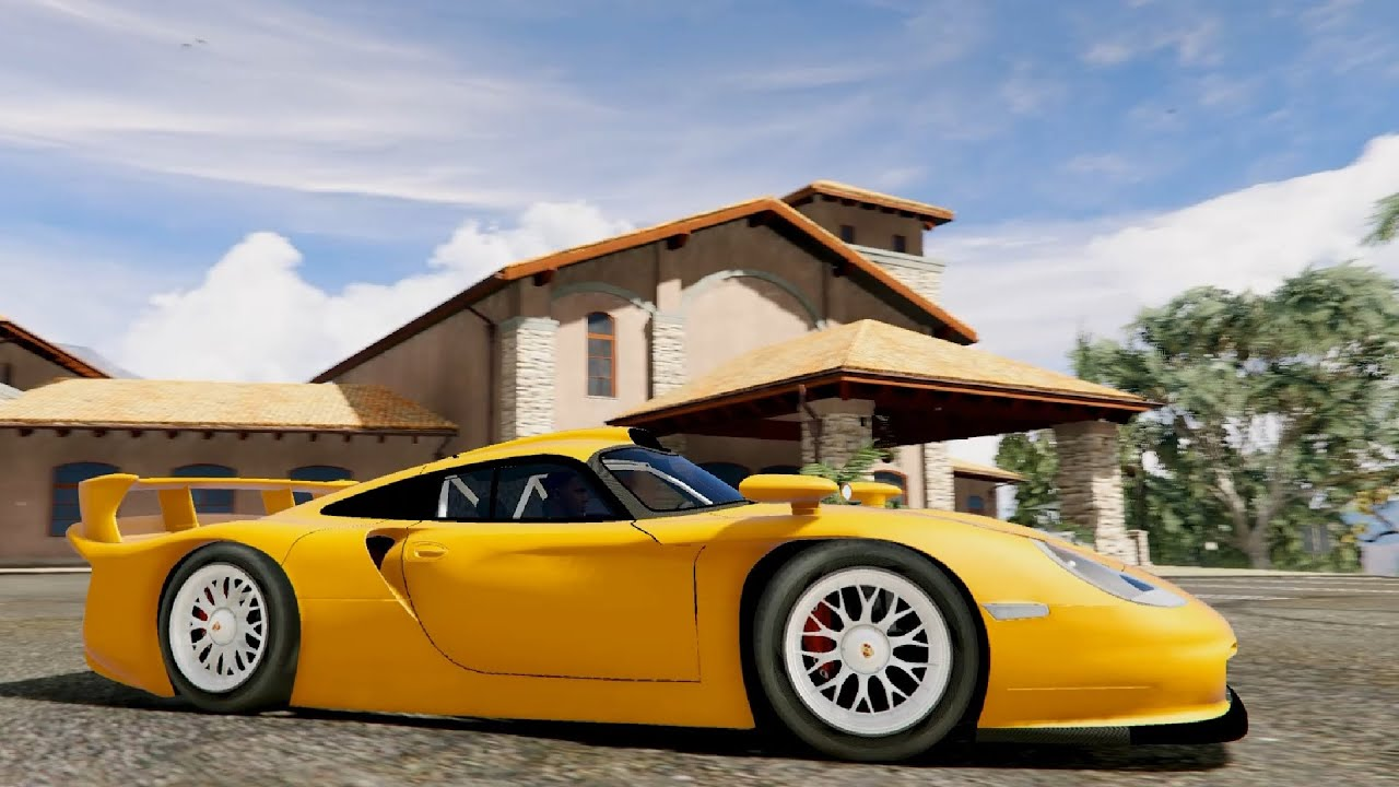 gta v porsche 911 gt1 stra enversion add on enromovies youtube. Black Bedroom Furniture Sets. Home Design Ideas