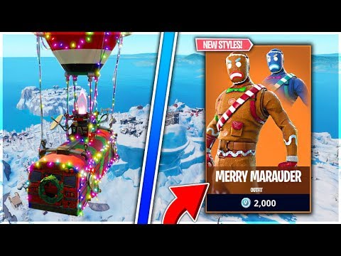 NEW CHRISTMAS UPDATE AND INSANE BUILDER! | Fortnite Battle Royale Live