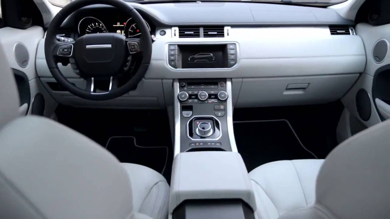 Range rover evoque int rieur youtube for Interieur range rover evoque