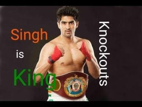 Top 5 Vijender singh Knockout   Including Francis Cheka