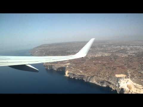 Ryanair 737 Takeoff Malta