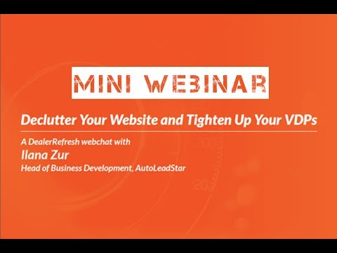 Does Your Dealership Website Attack Visitors? - Mini Webinar