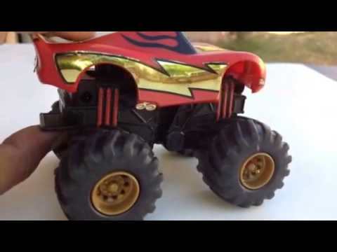 Disney Cars Lightning McQueen as Monster Truck review by ...
