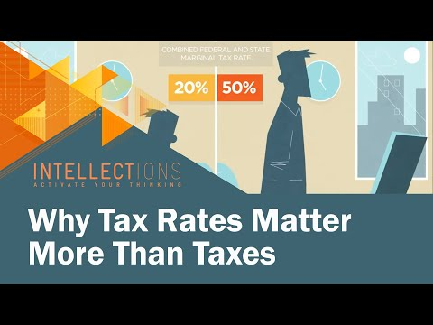 Why Tax Rates Matter More Than Taxes