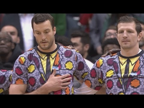 RIP Craig Sager. Jabari Parker Dunks on Robin Lopez. Bulls vs Bucks