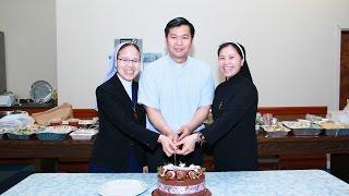 Lễ và tiệc mừng Cha Thuận, Sơ Hiển, Sơ Huyền tốt nghiệp ở Boston