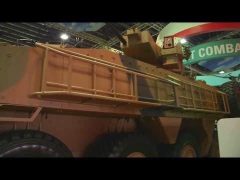 ST Engineering - Terrex 2 8X8 IFV & Bronco New Gen Tracked Vehicle Unveiled [1080p]
