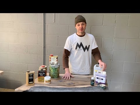 #MWshoptalk   - Finishes for Wood and Epoxy Resin