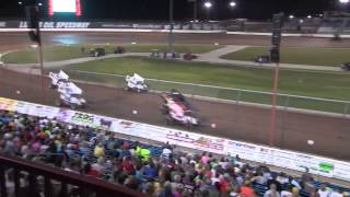 ASCS Sprint Car Feature June 20, 2015.