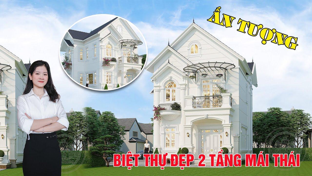 image Sang trọng Nhà mái Thái 2 tầng xinh đẹp [Hot 2021]