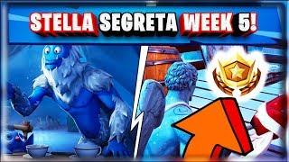 STELLA SEGRETA WEEK 5 SEASON 7 FORTNITE SECRET BATTLE STAR WEEK 5 SEASON 7