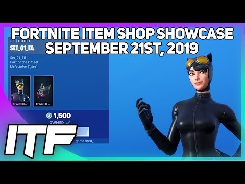 Fortnite Item Shop *NEW* CATWOMAN SKIN SET! [September 21st, 2019] (Fortnite Battle Royale)