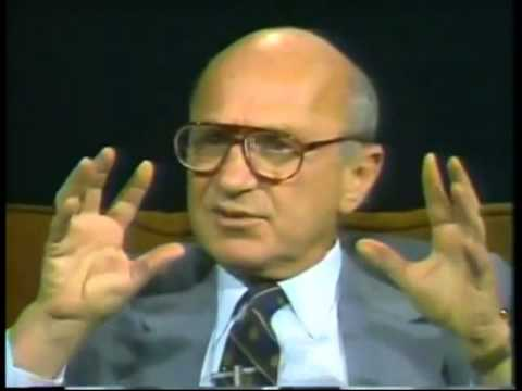 Milton Friedman: Inflation vs Unemployment