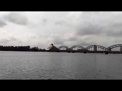 Riga, Latvia. Daugava river (Western Dvina)