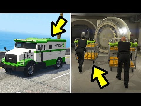 GTA 5 - What Happens If You Follow The Money Trucks?