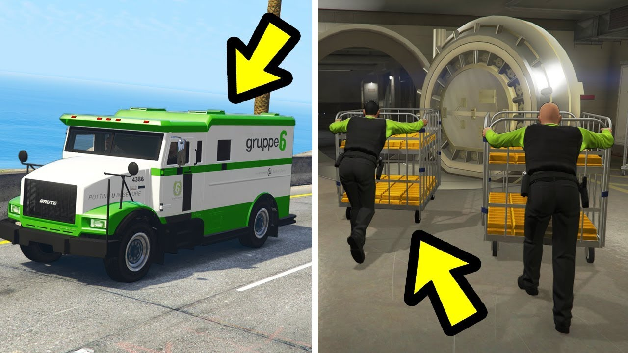 Download GTA 5 - What Happens if you Follow the Money Trucks?
