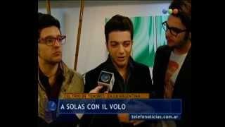 Il Volo con Telefe Noticias en Mayo 2013