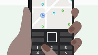 How to zoom in and out of Google Maps on feature phones