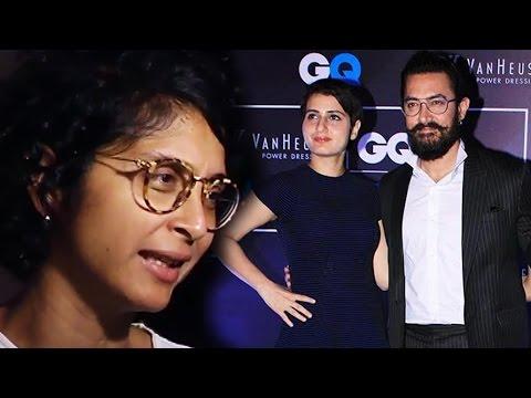 Wife Kiran Rao OPENS On Aamir Khan & Fatima Rumours Mp3